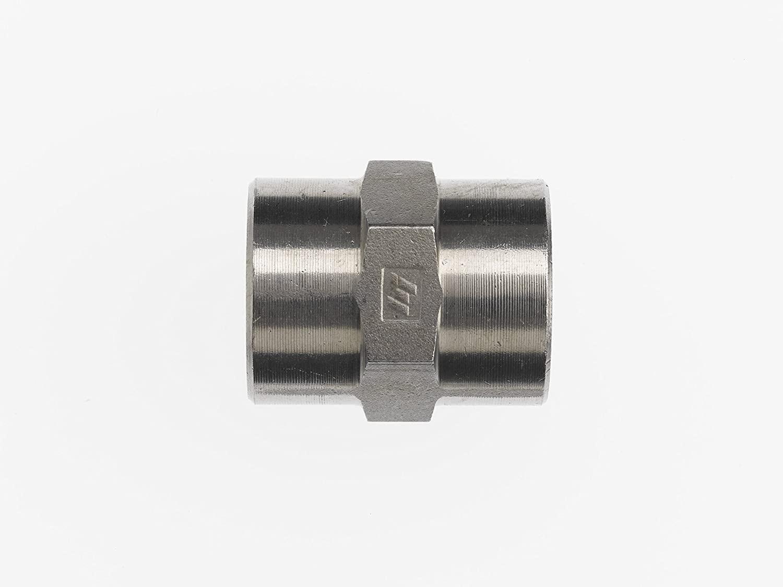Brennan Industries 5000-32-24 Steel Straight Adapter, 2
