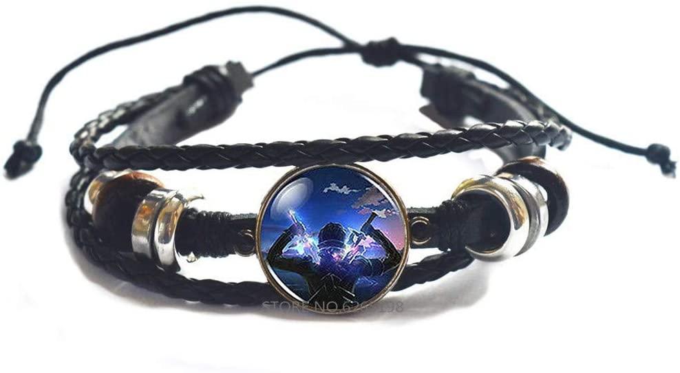 Sword Online Men Handmade Fashion Bracelet,Sword Bracelet, Sword Bangle, Witchy Jewelry, Gothic Jewelry, Sword Jewelry,N158