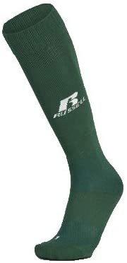 Russell All Sports ADULT Sock (2 Pair) (Dark Green, Large)
