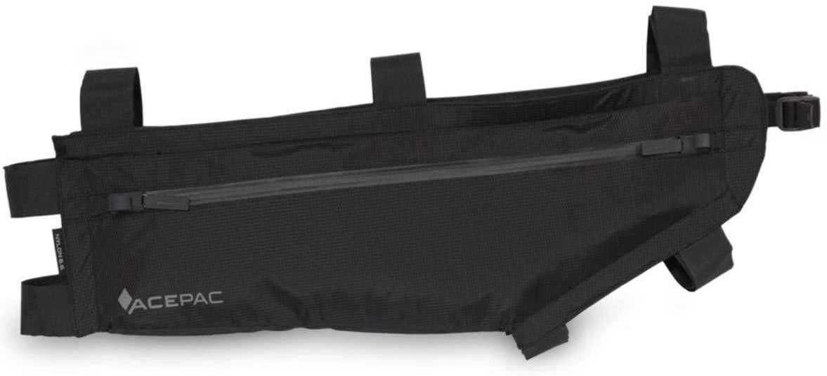 Acepac Zip Bicycle Frame Bag - Large, Black - 129305