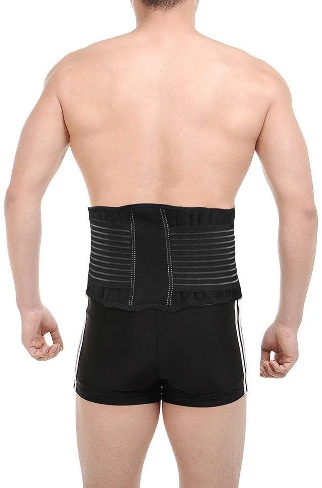 ZSZBACE Waist Brace, Waist Back Support Unisex Men Abdominal Trainer Back Support Elastic Compression Waist Belt for Sports,Fitness,Workout