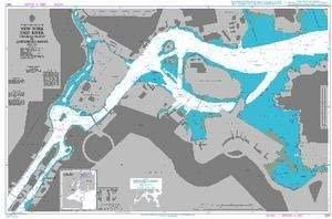 UKHO BA Chart 3451: New York East River Tallman Island to Queensboro Bridge