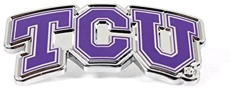 aminco TCU Texas Christian Logo Pin