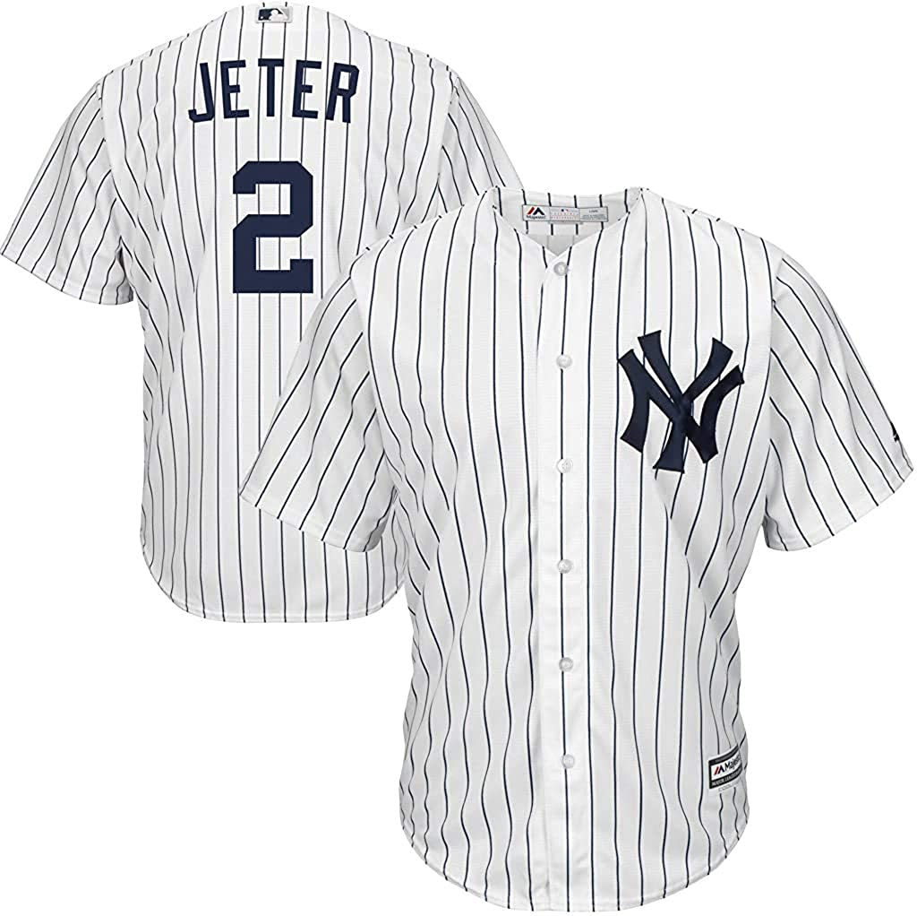 Derek Jeter New York Yankees MLB Boys Youth 8-20 Player Jersey