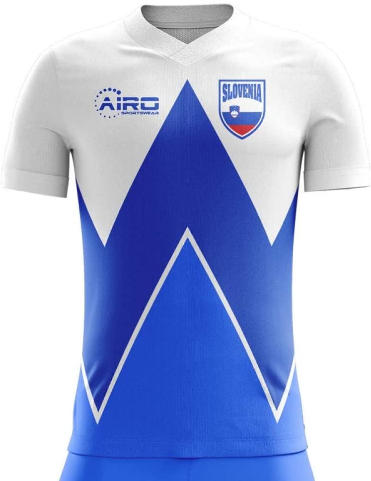 Airosportswear 2020-2021 Slovenia Home Concept Football Soccer T-Shirt Jersey - Womens