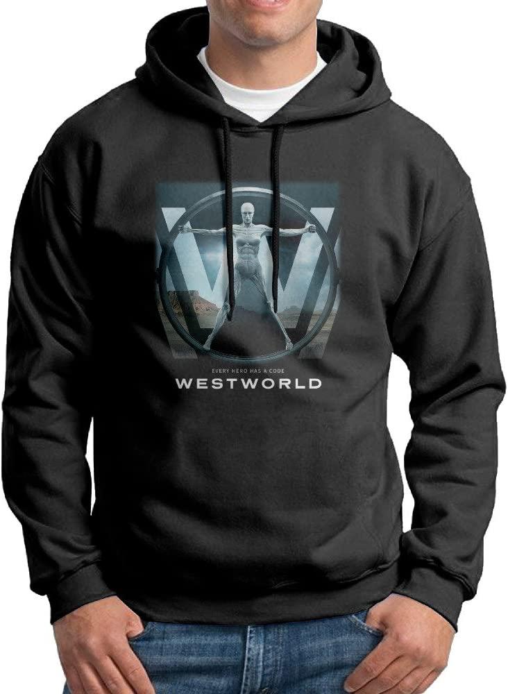 Barney Marico Mens Westworld Tv Poster Hoodie Sweatshirt