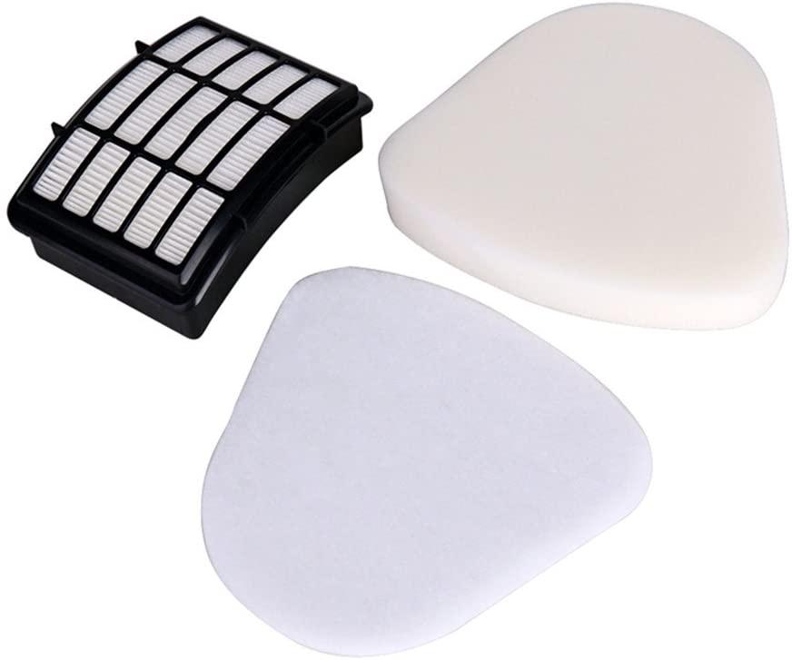Bluepillows Kit for Shark Nv350 Rotator Pro Lift-away Foam Filter ,Washable and Reusable Filter and Foam Filter Kit for Shark Rotator Pro Lift-Away NV350 NV351 NV355 (NV350)