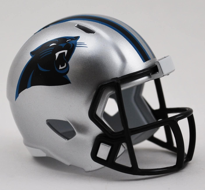 Carolina Panthers NFL Cupcake/Cake Topper Mini Football Helmet