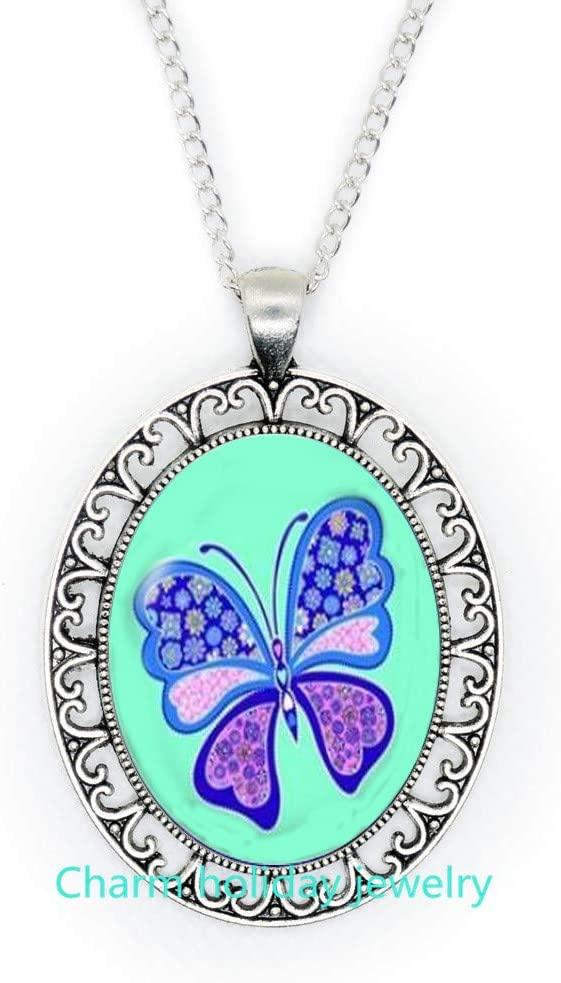 Butterfly Necklace,Butterfly Jewelry,Butterfly Gift for Butterfly Lovers Gift,Butterfly Pendant,Delicate Jewelry-#362