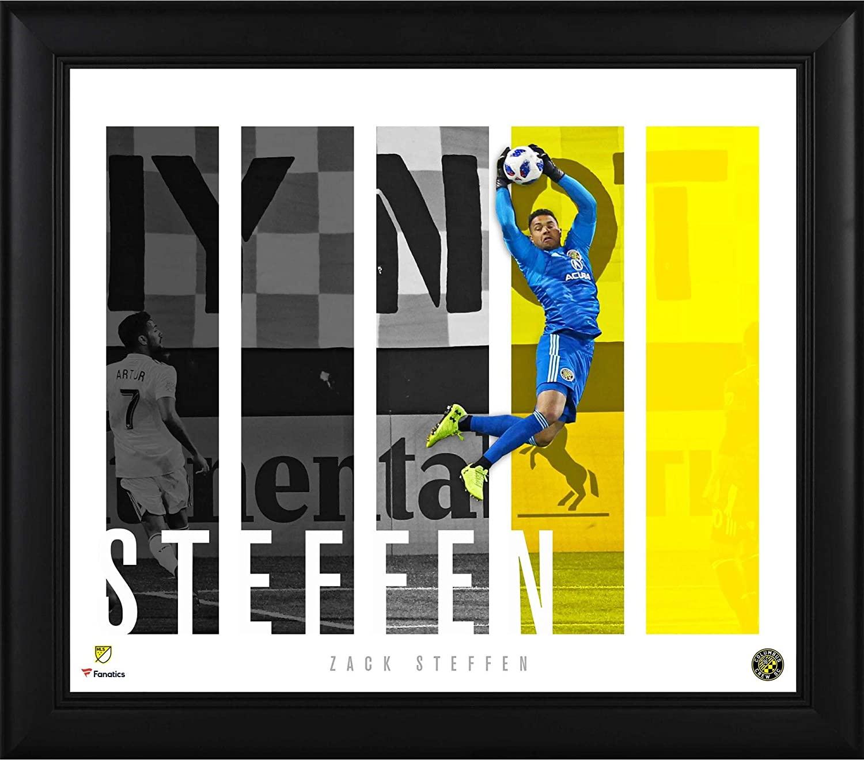 Fanatics Authentic MLS Columbus Crew Zack Steffen Columbus Crew SC Framed 15 x 17 Player Panel Collage