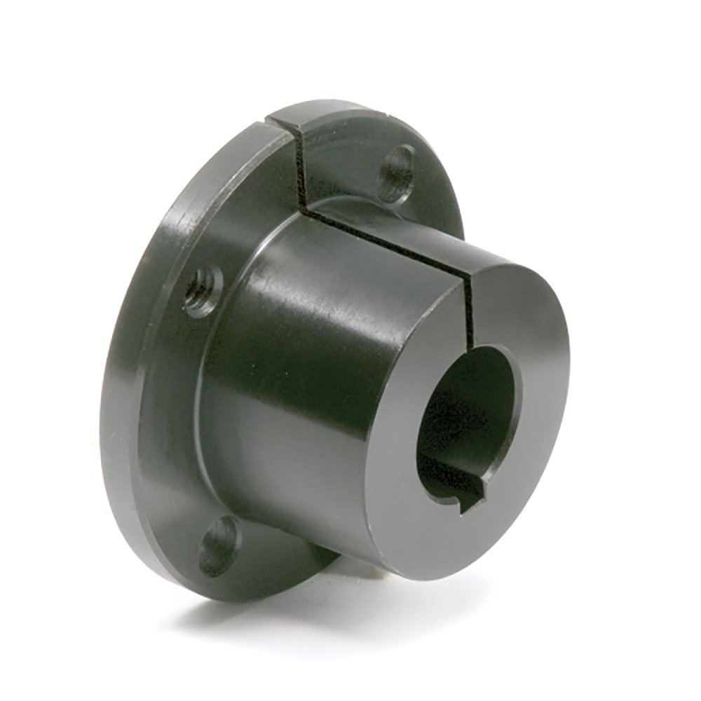 Ametric® SDS.1-1/2 QD Bushing, 1.5( 1.5 ), 3.18 inch Flange Dia (D), 0.43 inch Flange Thick (A), 1.31 inch Over All Width (E ), 0.75 Inch Width of Bushing seat (F), 0.12 Inch Bushing Head Gap (G), 3/8x3/16 Keyway, 1.3 Lbs., (1-024)