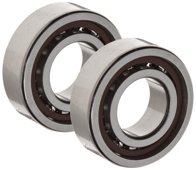 SKF 7015 CD/P4ATBTA Angular Contact Bearing, Triplex Set, Light Preload, ABEC 7 - 9 Extra Precision, 15° Contact Angle, Back-to-Back/Tandem Arrangement, Metric, 75mm Bore, 115mm OD, 20mm Width