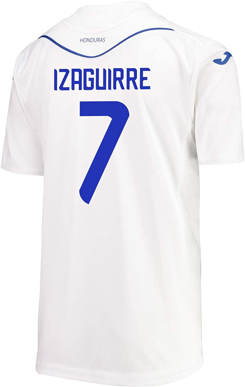 Joma Izaguirre #7 Honduras Home Soccer Youth Jersey 2019-20
