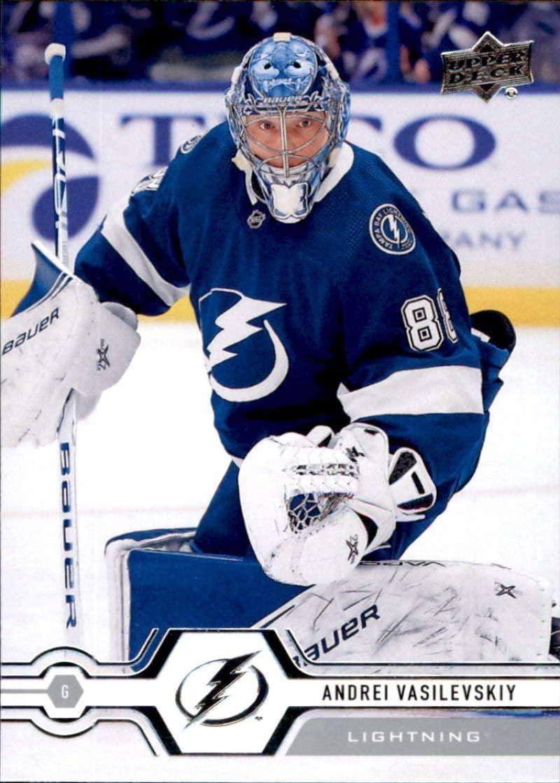 2019-20 Upper Deck #272 Andrei Vasilevskiy Tampa Bay Lightning Hockey Card