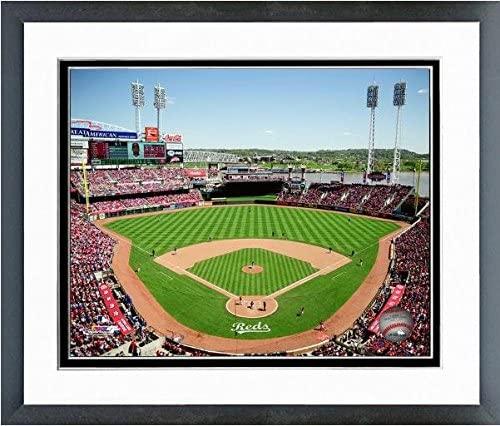 MLB Cincinnati Reds Great American Ballpark 2015 Stadium Photo (Size: 12.5