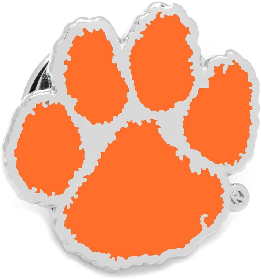 Cufflinks Inc. NCAA Clemson University Tigers Lapel Pin, Officially Licensed