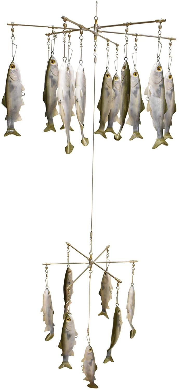 EatMyTackle Mullet Double Dredge Fishing Teaser | (19) 8 Inch Lifelike Fish