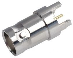 112608-RF / Coaxial Connector, BNC Coaxial, Straight Jack, Solder, 50 ohm, Phosphor Bronze