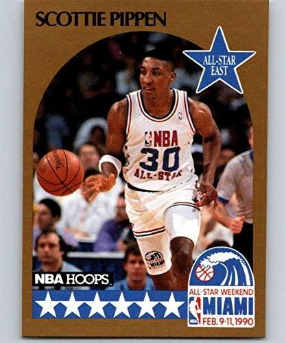 1990-91 Hoops #9 Scottie Pippen SP Bulls AS NBA Basketball