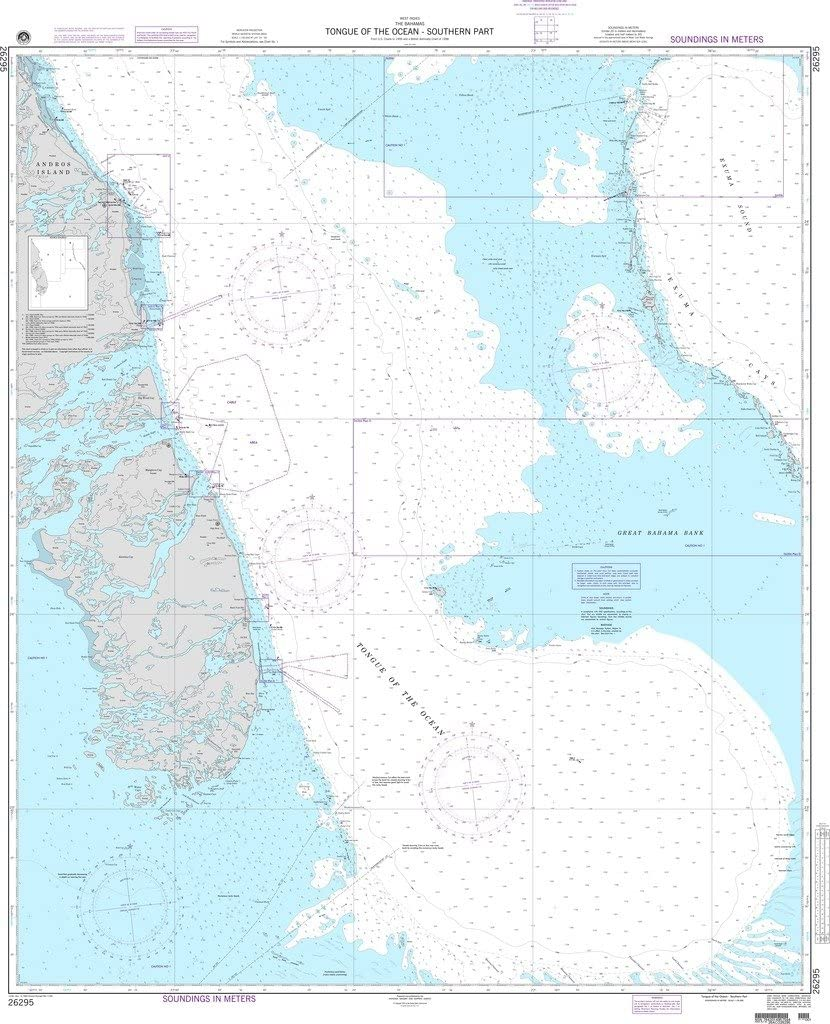 NGA Chart 26295: Tongue of the Ocean-Southern Part