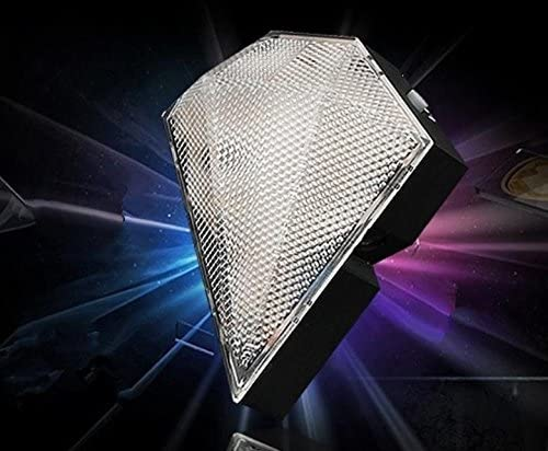 Bicycle tail light jewel-shaped Cordless , white