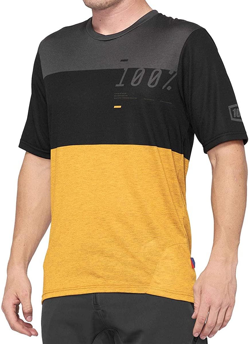 100% Percent Men's Airmatic Short Sleeve MTB Jersey - 41312
