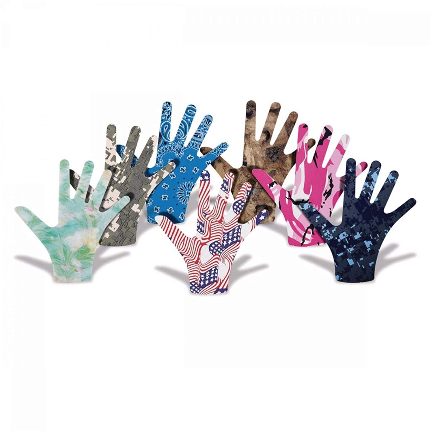 Rolyan Imprints Bandana Mini Cock-Up, Low-Heat Splint Material, Thermoplastic Splint for Injuries, Immobilizes Injuries, Orthotic Protection, Professional & Clinical Use