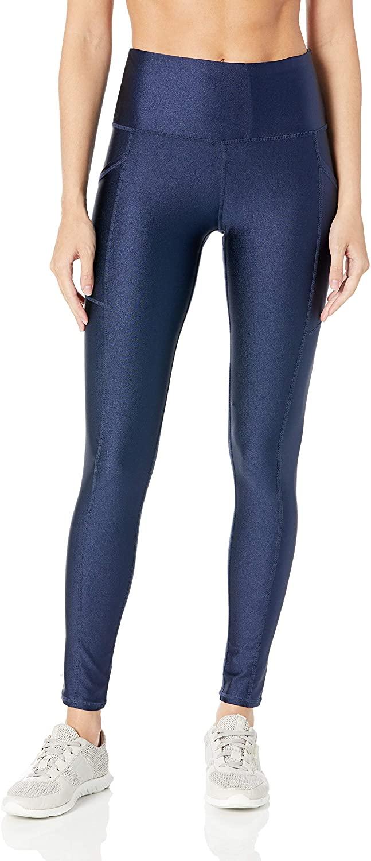 Marc New York Performance Women's Waisted High Shine Compression Legging