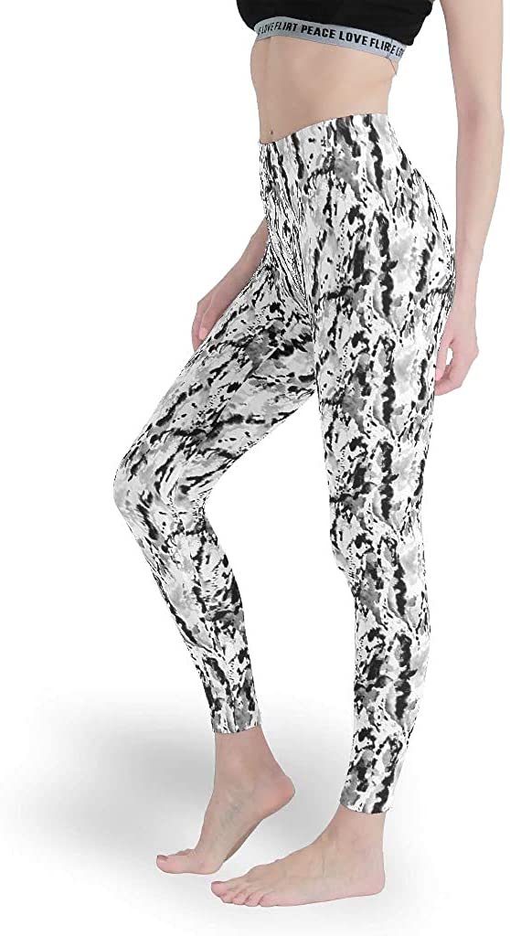 Stylish Capri Soft, Women's Skinny Yoga Leggings Pilates Apparel Ankle Length Leggings Pants for Yoga Fitness