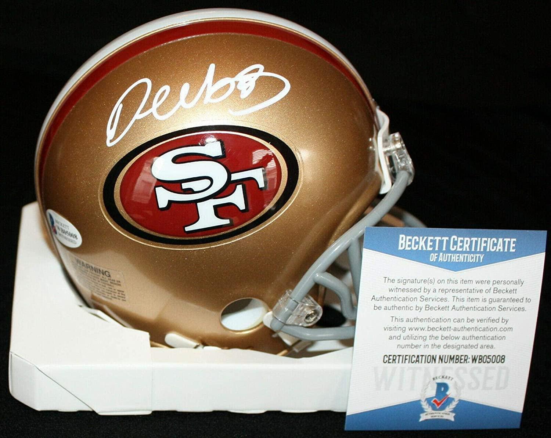 Deebo Samuel Autographed Mini Helmet - Beckett BAS WB05008 - Beckett Authentication - Autographed NFL Mini Helmets