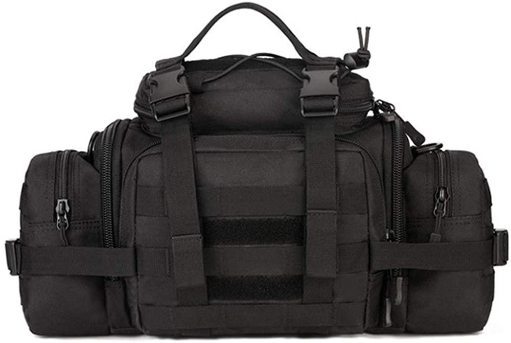 Tactical Duffle Bag Fishing Fanny Pack Range Bags Men Gym Military Molle Shoulder Bags Waist Camera Sports Handbag