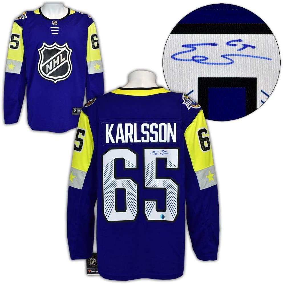 Erik Karlsson Autographed Jersey - 2018 All Star Game Fanatics - Autographed NHL Jerseys