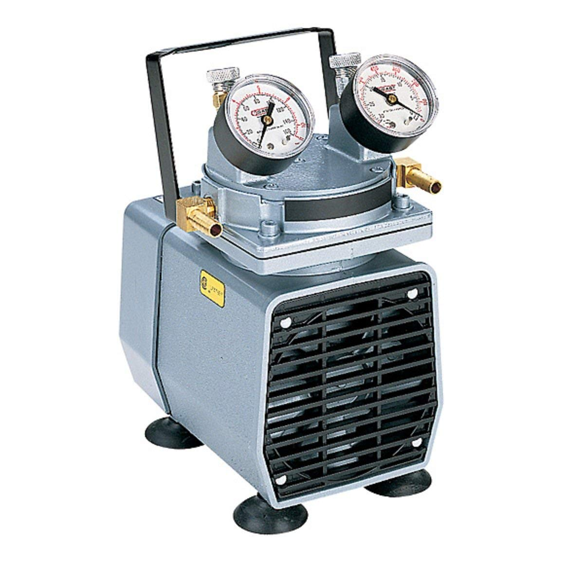 Gardco DP-173869 Vacuum Pump, Rotary Vane, Metal Housing, 115V