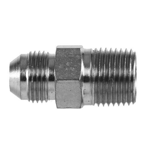 Brennan Industries 2404-02-04 Steel Straight Tube Fitting, 5/16