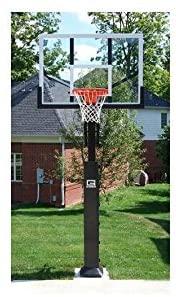 Gared Collegiate Pro Jam Basketball System with Acrylic Backboard