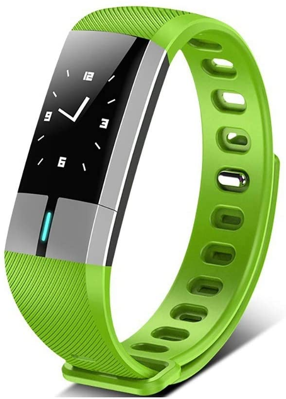 RYDZTMZ IP67 Waterproof Fitness Tracker, Full Touch Screen Smart Watch Bracelet, Suitable for Sports and Fitness (Color : E)