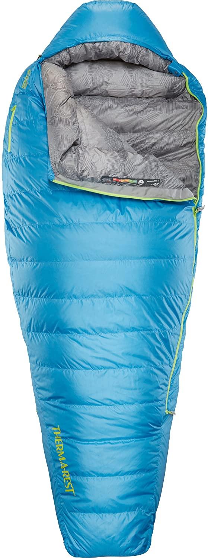 Therm-a-Rest Questar 0-Degree Lightweight Down Mummy Sleeping Bag (2019 Model)
