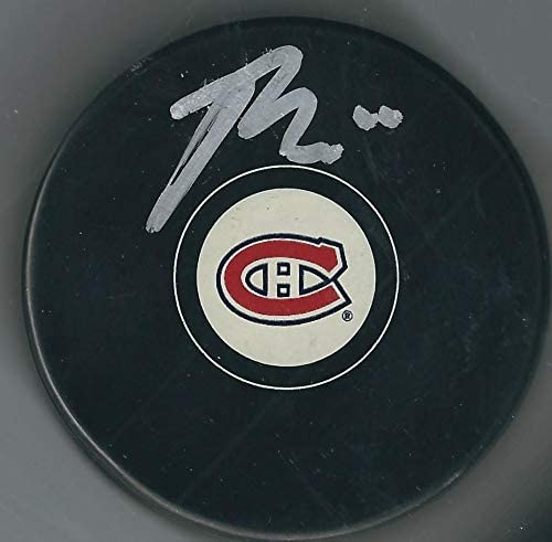 Brendan Gallagher Signed Hockey Puck - Autographed NHL Pucks
