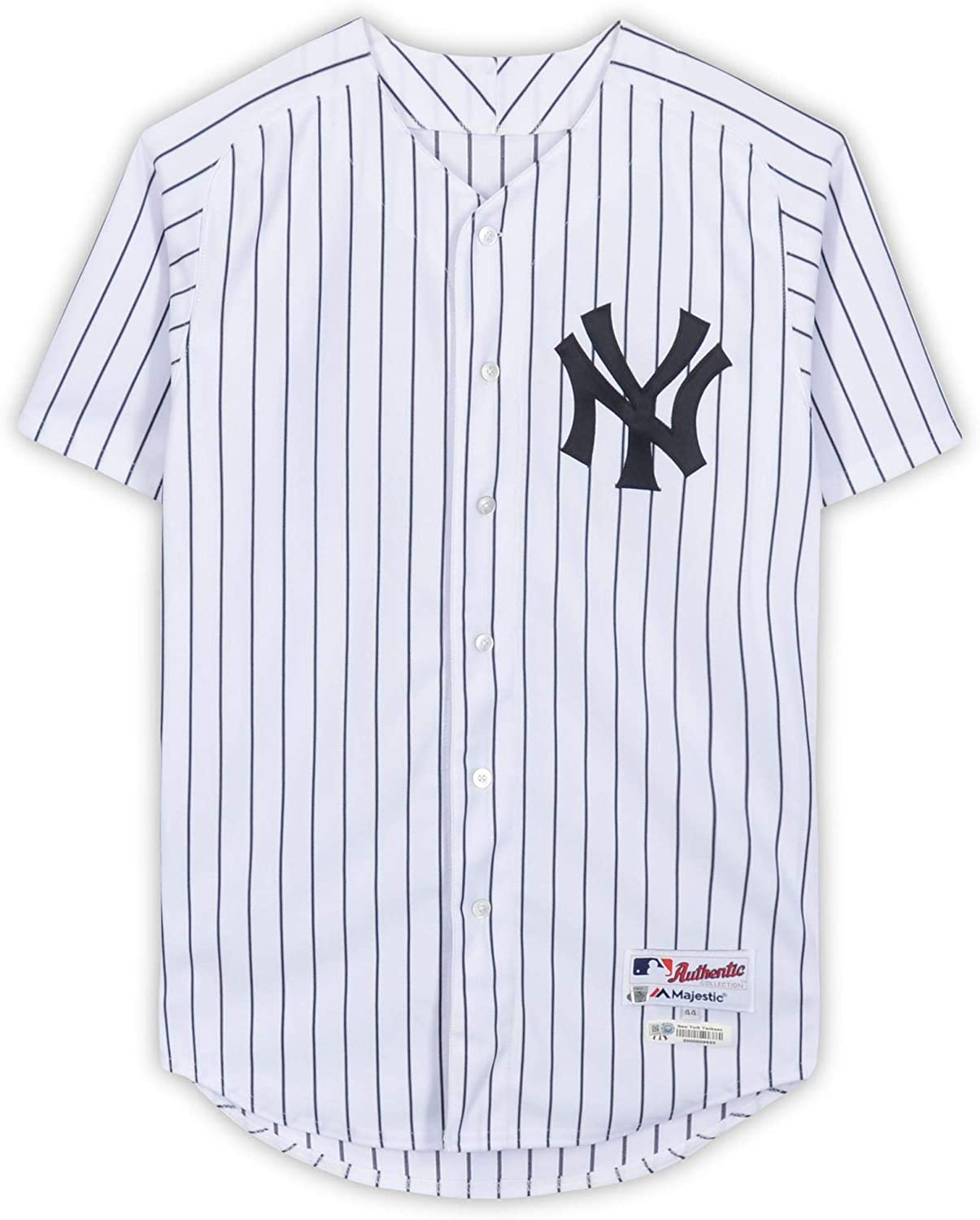 David Robertson New York Yankees Game-Used #30 White Pinstripe Jersey vs. Baltimore Orioles on September 23, 2018 - DNP - Fanatics Authentic Certified