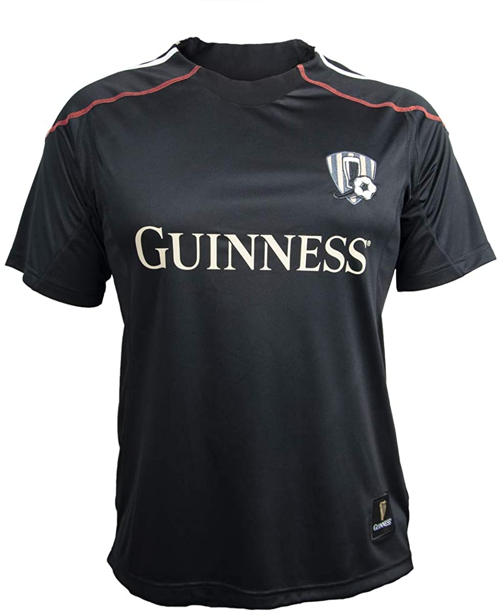 Guinness Black and Red Stripe Soccer Jersey