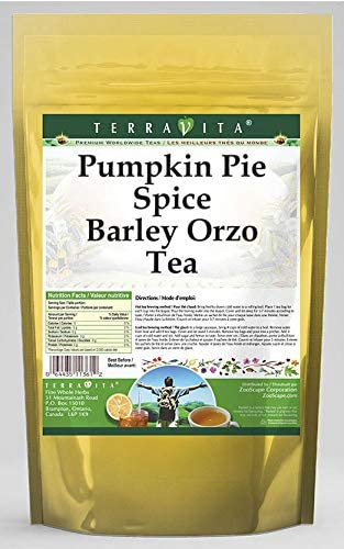 Pumpkin Pie Spice Barley Orzo Tea (25 Tea Bags, ZIN: 561102) - 2 Pack