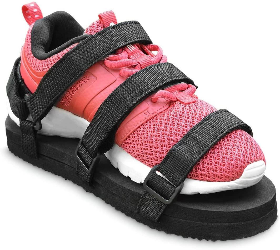 Healvaluefit Shoe Leveler Shoe Lift Shoe Balancer for Walking Boot Height Enhancing Shoe (Medium)