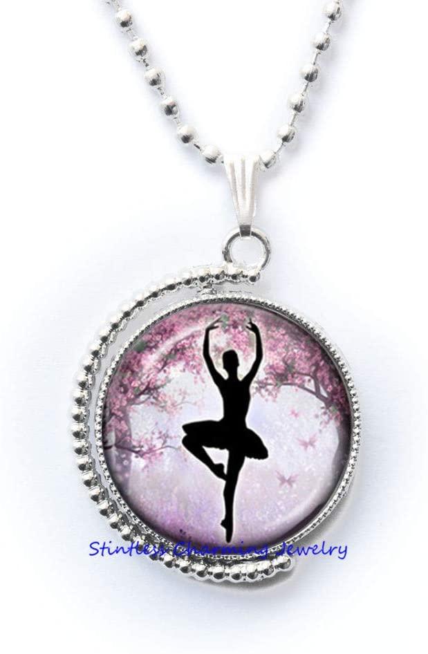 Ballerina Necklace for s-Necklace for s-Jewelry for s-Jewelry for Little s-Ballerina Party Gifts-Dancer Necklace-JV372