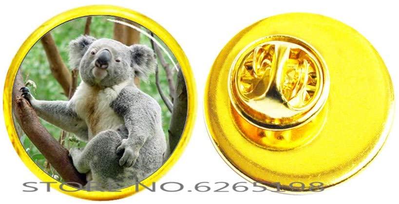Koala Bear Brooch, Australia Jewellery, Animal Jewelry, Animal Brooch, Personalised Jewellery,N160
