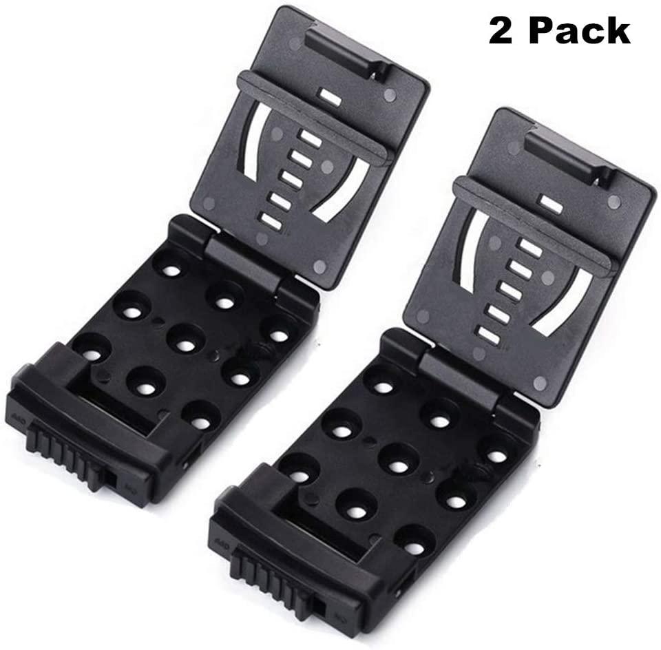 WJZXTEK Tactical Holster Belt Clip Universal Utility Multi-Function Adjustable EDC Belt Clip Large with Hardware