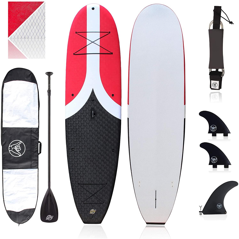 Premium Beginner Soft-Top Paddle Board (10'4