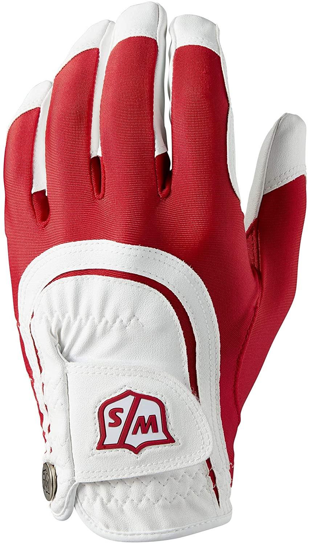 Wilson Staff Fit All Golf Glove, Mens (Worn On Left Hand)