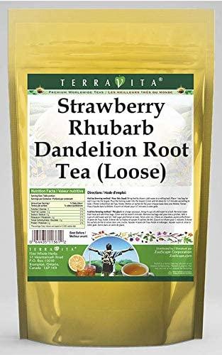 Strawberry Rhubarb Dandelion Root Tea (Loose) (4 oz, ZIN: 564320) - 3 Pack