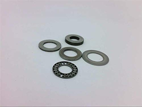 CONSOLIDATED BEARING 81103 Thrust Roller Bearing, 3.5X2.75X9MM