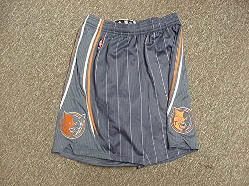 Corey Maggette Charlotte Bobcats 2011-2012 Blue Game Worn Shorts